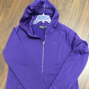 EUC, Women's UA zip up size XL $28